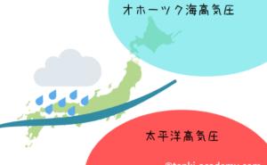 秋雨前線と梅雨前線の違いは?見分け方を気象予報士が簡単解説!