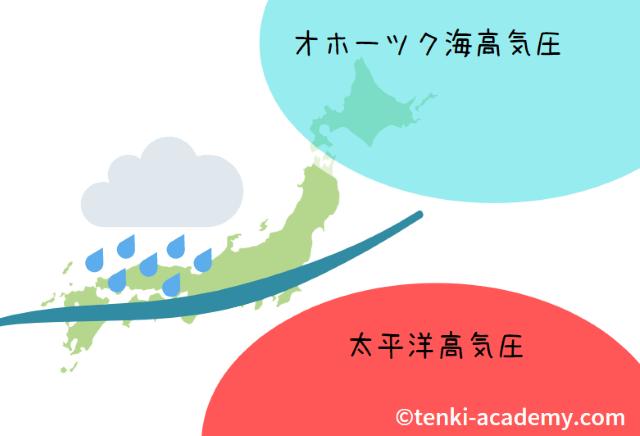 北海道に梅雨がない理由は?気象予報士が簡単に解説!