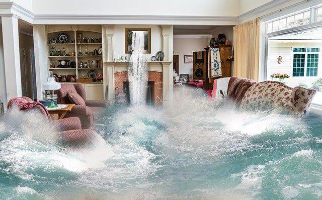 床上浸水したら修理費用は保険で請求できる!火災保険の請求方法
